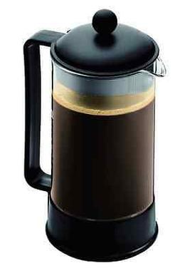 New Bodum French Press Coffee Tea Maker 8 Cup 34 Oz Stainles