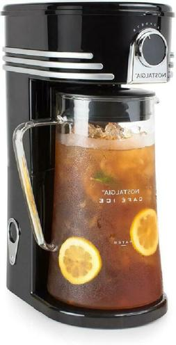 NEW Iced Coffee Lattes Tea Maker Brewing System 3 Quart Glas