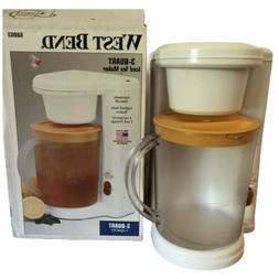 new in box vintage West Bend 3 Quart Iced Tea Maker