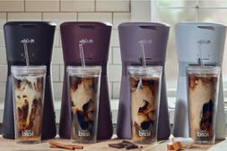 NEW MR.COFFEE Iced Coffee Maker with Reusable Tumbler and Co