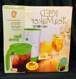 NEW Mr. Coffee The 3 Quart Iced Tea Pot Maker TM32P w/ Bonus