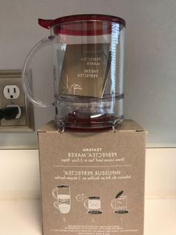 NEW - TEAVANA Perfect Tea Maker Perfectea 16 oz NEW BPA Free