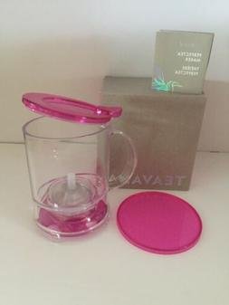 new perfectea maker 16oz pink fuchsia loose