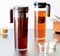 New KINTO Plug Iced Tea Maker Jug with Built in Tea Infuser