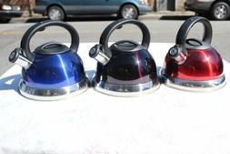 NEW! Stainless Steel Whistling Tea Kettle 2.5L/ 3L Encapsula