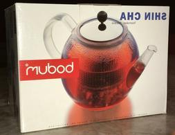 NIB Bodum Shin Cha Teapot with Stainless Steel Filter Tea Ma