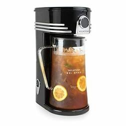 Nostalgia CI3BK Iced Coffee Maker and Tea Brewing System, Gl