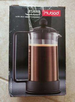 OpenBox Bodum Brazil 3 cup French Press Coffee Maker, 12 oz,