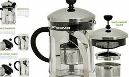 Ovente Glass Tea Maker with High Grade Removable Stainless S