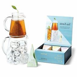 Tea Forte TEA OVER ICE Steeping Tea Pitcher Set and Iced Tea