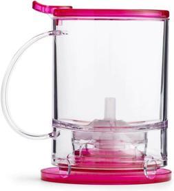 Teavana Perfec tea Maker, Pink Fuchsia New 16 ounces blue co