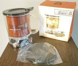TEAVANA Perfect Tea Maker New Blue! BPA free 16 oz. New In T