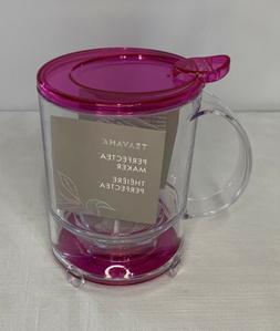 Teavana PerfecTea 16 Ounce Tea Maker - Pink, New Open Box! G