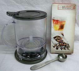 Teavana PerfecTea 16 Ounce Tea Maker With Scoop & Box of Fil