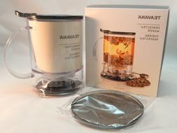 TEAVANA  Perfectea Maker 16 Oz Black Loose Tea Infuser BPA F