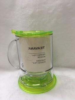 Teavana Perfectea Maker Lime  Colored  16 oz
