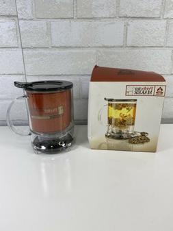 Teavana Perfectea Perfect Tea Maker II 16oz Black Loose Leaf
