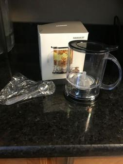 Teavana Perfectea Tea Maker in Black BPA Free 16 Oz - NEW in