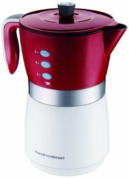 Hamilton Beach 5-Cup Personal Brewer Coffee Maker, 43700, Si