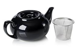 Adagio Teas PersonaliTea Ceramic Teapot with Infuser Basket,