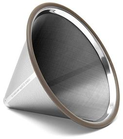 Paperless Stainless Steel Pour Over Coffee Filter – Reusab