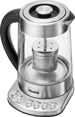 Bella - Pro Series 1.7L Electric Tea Maker/Kettle - Stainles