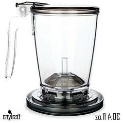 Tealyra - rapidTEA MAKER 900ml - Loose Tea Teapot Infuser -