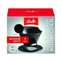 Melitta  Ready Set Joe  Pour-Over Coffee Brewer  Black  1 cu