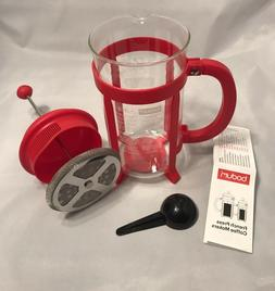 Red Bodum French Press 34 oz 8 cup Espresso Coffee Tea Maker