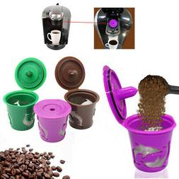 Refillable Reusable  K-Cup Coffee Tea Filter Cup Maker Acces