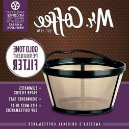 Reusable Basket Coffee Filter For 10-12 Cup Mr Coffee Maker
