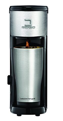 Chefman RJ14-SKG Versa Brew K-Cup & Coffee Ground Brewer Bla