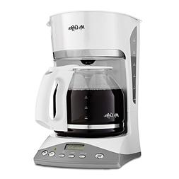 Mr. Coffee SKX23 12-Cup Programmable Coffeemaker, Black