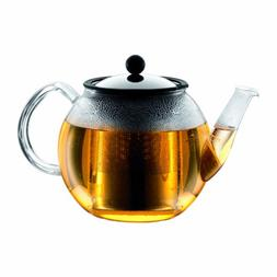 Bodum Shin Cha Glass Tea Press with Stainless Steel Filter