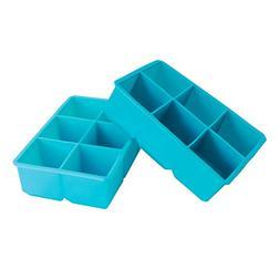 Webake Silicone Ice Cube Molds, Ice Cube Tray, Large 2 inch