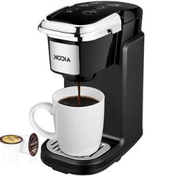 AICOK Single Cup Coffee Maker, Single Serve Coffee Brewer wi