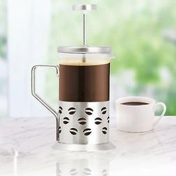 Single Cup French Press - 11 Oz. Coffee & Tea Maker - Coffee