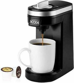 Aicok Single Serve Coffee Maker, Coffee Machine with 12OZ Wa