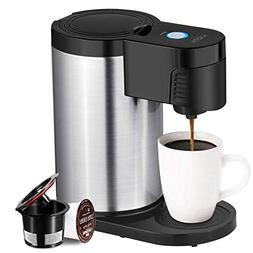 Aicok Single Serve Coffee Maker, Single Cup Coffee Maker for