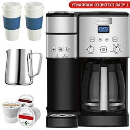 Cuisinart SS-15 12-Cup Coffee Maker and Single-Serve Brewer,