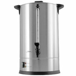 Cafe Amoroso 100 Cup Stainless Steel Coffee Urn - Commercial