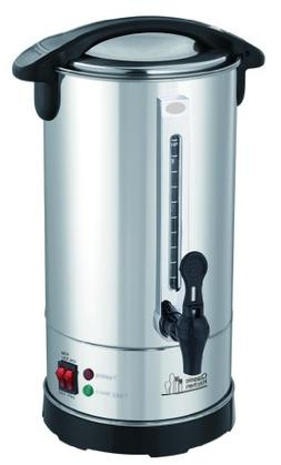 40 Cup Stainless Steel Double Wall Insulated Hot Water Urn -