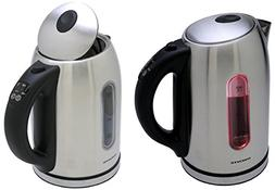 1.8-qt. Stainless Steel Electric Tea Kettle, Brushed