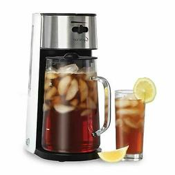 Capresso Stainless Steel Ice Tea Maker w/ 80 Oz. Glass Pitch
