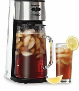 Stainless Steel Iced Tea Maker Glass Pitcher