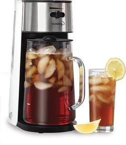 Capresso Stainless Steel Iced Tea Maker Glass Pitcher One Bu