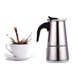Stainless Steel Moka Coffee Tea Maker Pot Extractor Valve f.