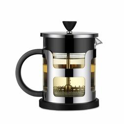 Stainless Steel Portable French Press Coffee Pot Tea Maker M