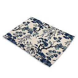ELLSON Table Placemats For Table Set Cotton Linen Home Kitch
