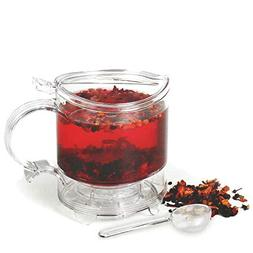 Tea and Coffe Maker- Infuser Set  BPA- FREE; Includes EZ Bre